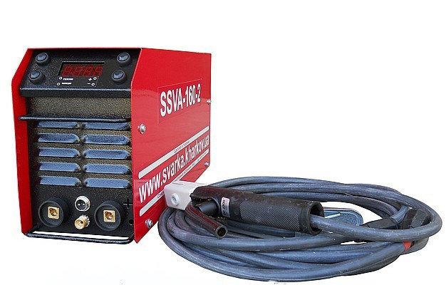 Аппарат аргоннодуговой сварки SSVA-160-2, укомплектованный фурнитурой ABICOR BINZEL, фото 2