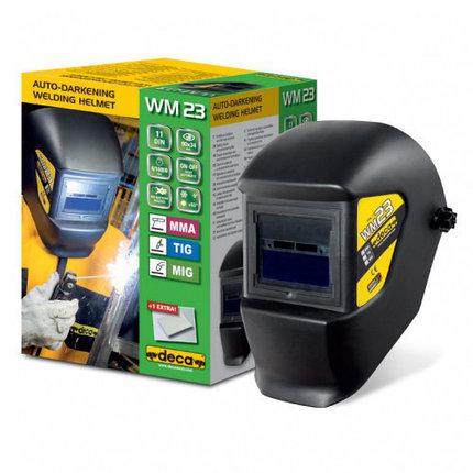 Сварочная маска хамелеон DECA WM 23 LCD, фото 2