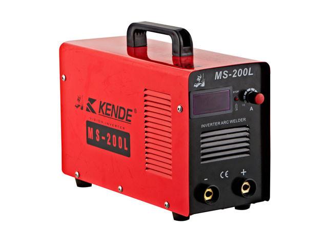 Сварочный аппарат Kende MS-200L, 7 кВт,10-200 А, 7.5 кг ,циф. Табл