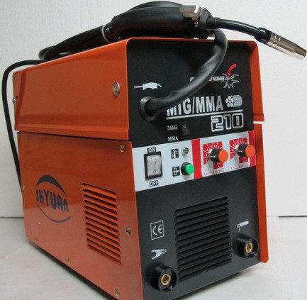 Инвертор Сварочный SHYUAN MIG 210 (п/авт+ д.сварка), фото 2