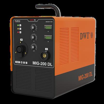 Сварочный полуавтомат DWT MIG-200 DL, фото 2