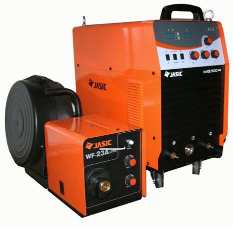 Сварочный инверторный полуавтомат JASIC MIG-500 (N221)
