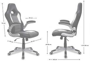 Кресло геймерское Forsage grey, Zeus, фото 2