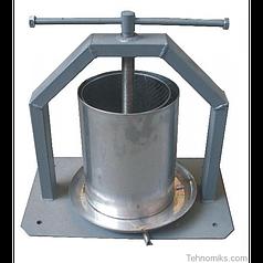 Механический пресс ручной для сока 15 л Винница нержавейка (двойной кожух)