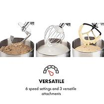 Кухонный миксер/тестомес Klarstein Bella Argentea 1200W 5 литров, фото 2