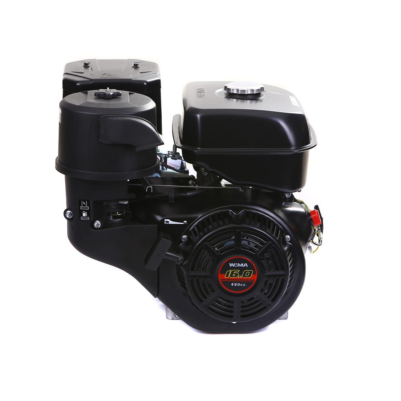 Двигатель WEIMA(Вейма) WM190F-L(16л.с.под шпонку с редуктором)