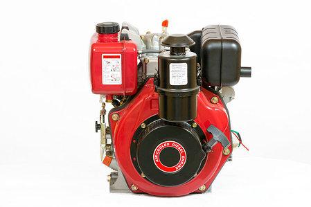 Двигатель дизельный WEIMA WM178FES (R) (вал ШПОНКА, 1800об/мин, для WM610), дизель 6.0л.с. , фото 2