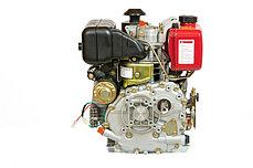 Двигатель дизельный WEIMA WM178FES (R) (вал ШПОНКА, 1800об/мин, для WM610), дизель 6.0л.с. , фото 3