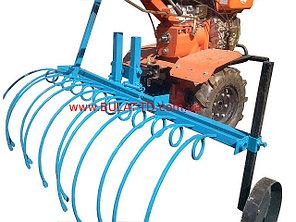 Грабли для мотоблока (1,2м) грабли для сена уборка сена, фото 2