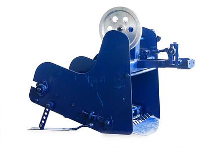 Картофелекопалка для мотоблока и мототрактора транспортерная КМ-5 (привод ременной справа) пр-во AGROMARKA, фото 2