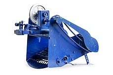 Картофелекопалка для мотоблока и мототрактора транспортерная КМ-5 (привод ременной справа) пр-во AGROMARKA, фото 3
