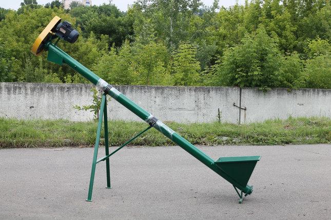 """Шнековый транспортер (погрузчик) """"EXPERT"""" ТГ115/3/3/0,5 бункер сьемный, фото 2"""