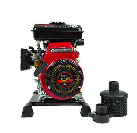 Мотопомпа WMQGZ40-20(двигатель WM152F) патрубок 40мм, 27куб/час, фото 2