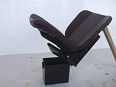 Сиденье EXPERT мягкое на аммортизаторе универсальное, фото 2