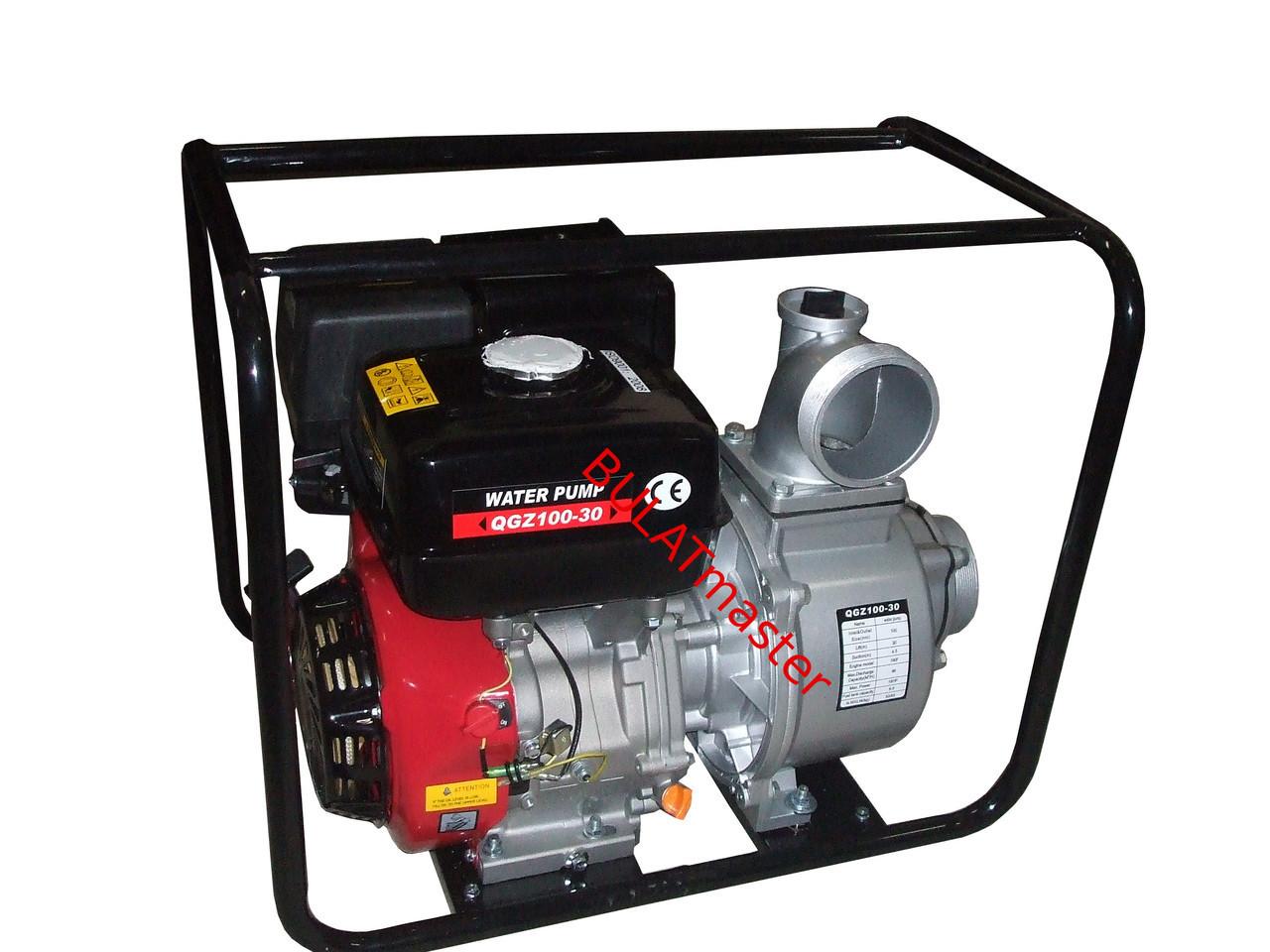 Бензиновая помпа WEIMA (Вейма) WMQGZ 100-30 (двигатель WM192 ,18 л.с.)
