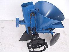 Картофелесажалка КСМ - 1 EXPERT с бункером для удобрений и посадкой чеснока