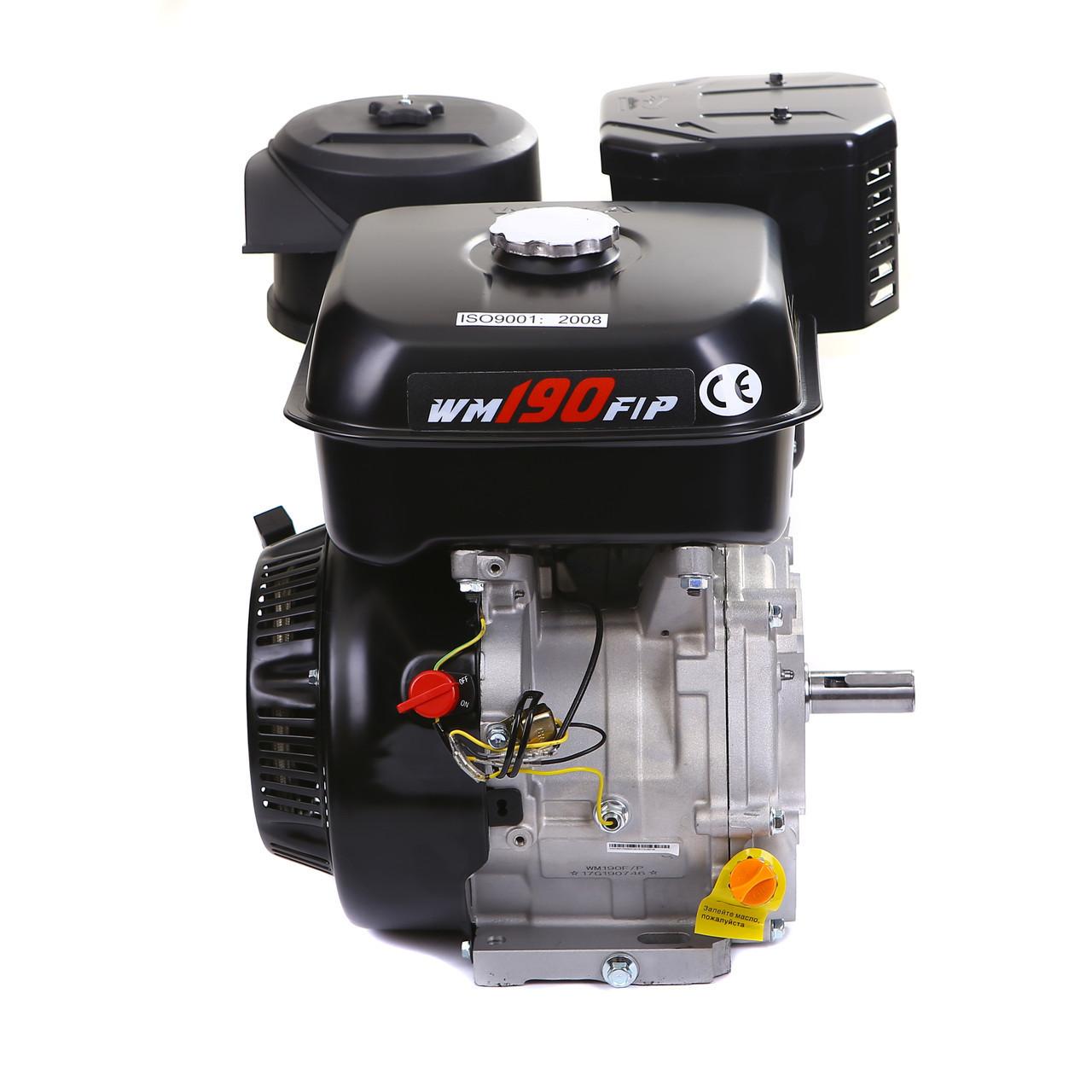 Двигатель бензиновый Weima WM190F-S2Р (вал под шпонку) со шкивом в комплекте