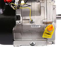 Двигатель бензиновый Weima WM190F-S2Р (вал под шпонку) со шкивом в комплекте, фото 2