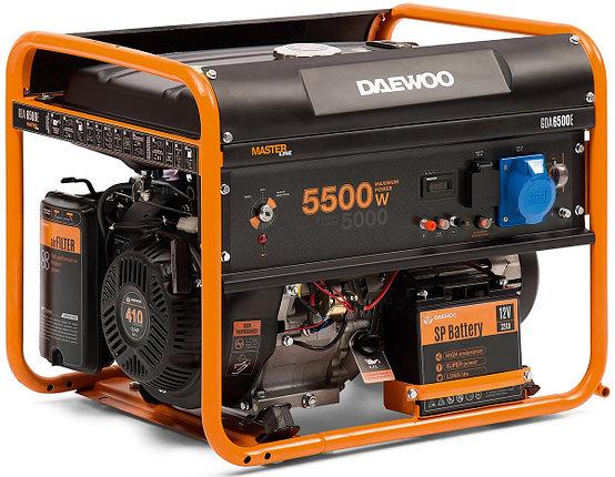 Бензиновый генератор Daewoo GDA 6500E, фото 2
