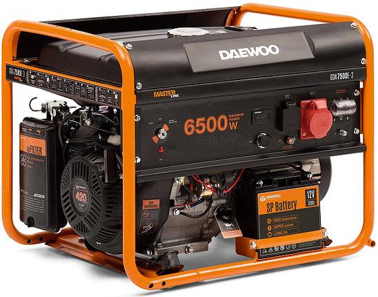 Бензиновый генератор Daewoo GDA 7500E-3, фото 2