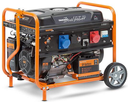Бензиновый генератор Daewoo GDA 8500DPE-3, фото 2
