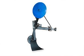 Картофелесажалка КП - 1 EXPERT для мотоблока оборотная с опорным колесом, фото 2