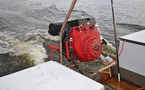 Подвесной лодочный мотор-болотоход MRS-24 HP, фото 3
