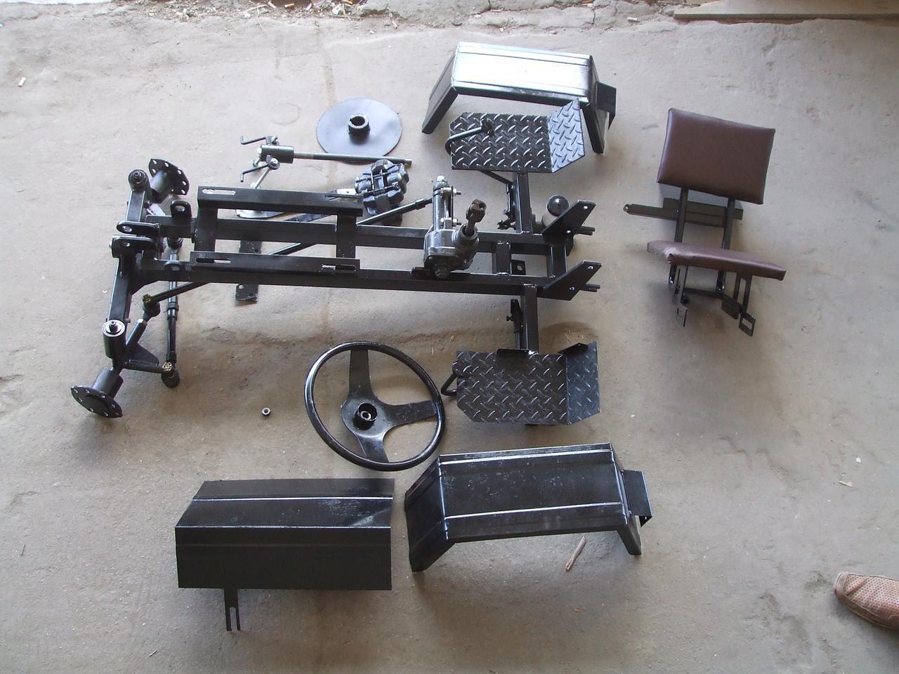 Комплект для переоборудования мотоблока в минитрактор (КИТ ПРЕМИУМ-3)