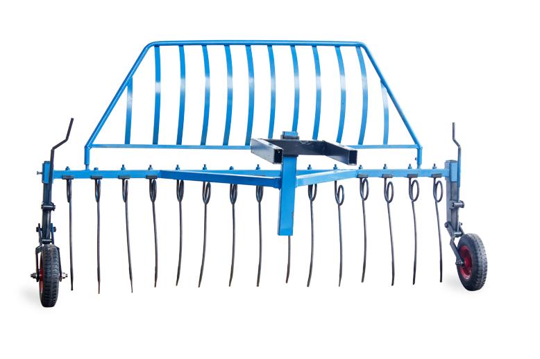 Грабли (AGROLUXE) для мотоблока, крепление спереди мотоблока