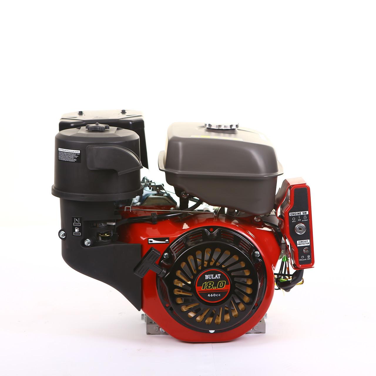 Двигатель BULAT (WEIMA) BW192FE-S (ШПОНКА, 18 Л.С., ЭЛЕКТРОСТАРТЕР)
