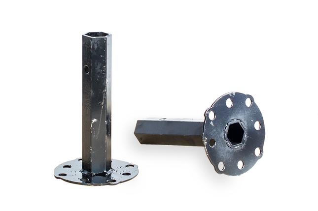 Полуось (ступица) ф 32мм для мотоблока универсальная (с цельнотянутой трубы, 220мм), фото 2