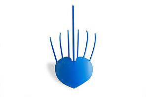 Картофелекопалка для мотоблока (Сердце) усиленная, фото 2