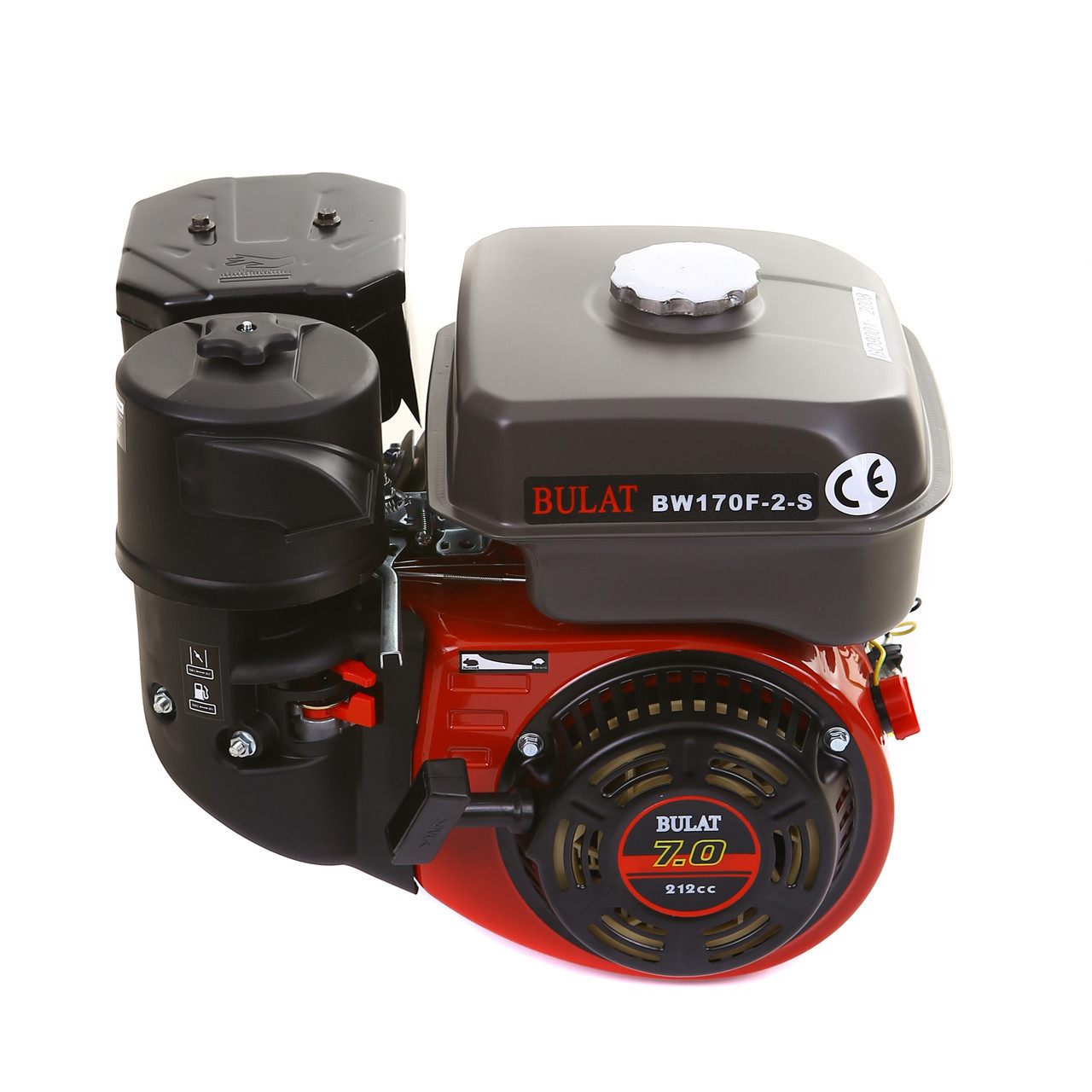 Двигатель BULAT(WEIMA) BW170F2-S (7,0 л.с.под шпонку ф20мм)