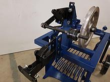 Картофелекопалка для мотоблока КМ-2(под ремень) вибрационная механизированная с активным ножом, фото 2