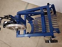 Картофелекопалка для мотоблока КМ-2(под ремень) вибрационная механизированная с активным ножом, фото 3