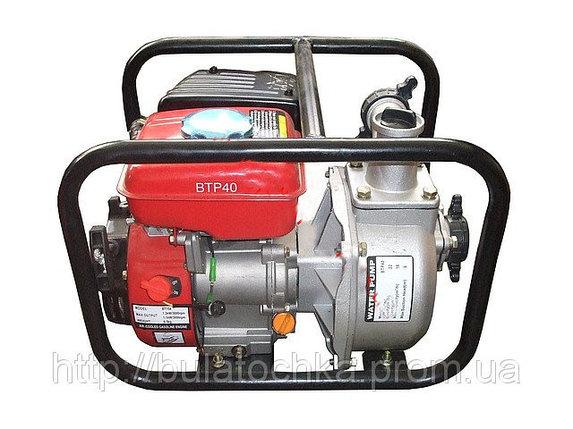 Мотопомпа бензиновая BULAT BTP40 (22м3/час), фото 2