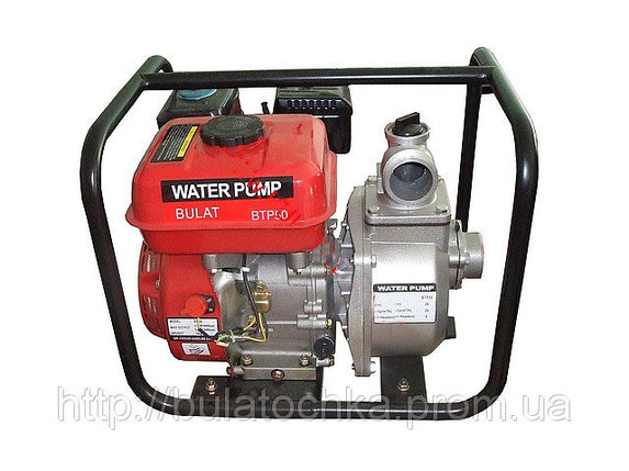Мотопомпа бензиновая BULAT BTP50 (36м3/час), фото 2