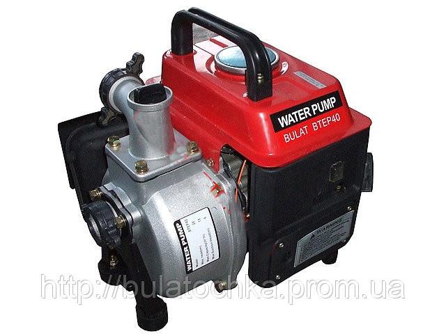 Мотопомпа бензиновая BULAT LTEP40 (12м3/час)