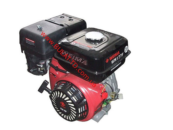 Двигатель WEIMA(Вейма) WM177F-T(9л.с. бензин под шлиц. 25мм) , фото 2