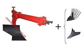 Плуг окучник и копалка к мотоблоку комплект  BULATik, фото 2