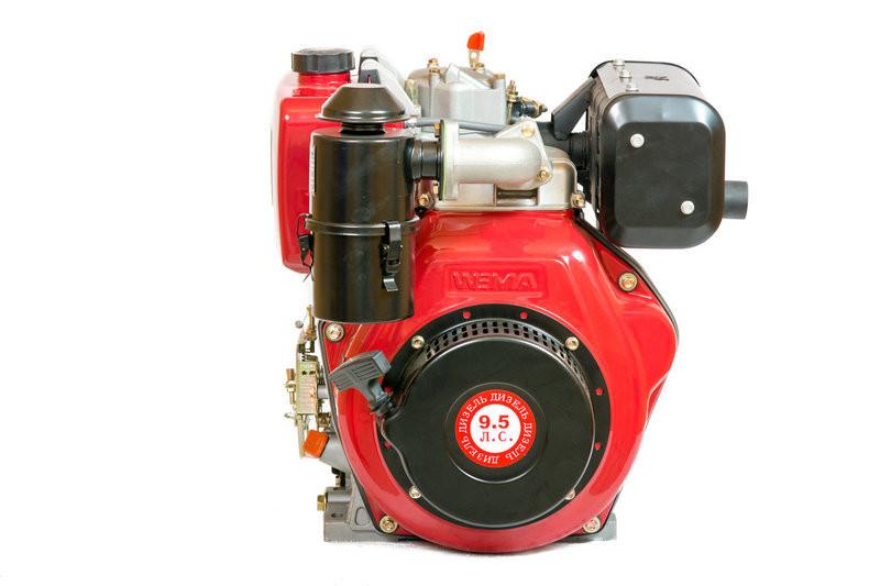 Двигатель WEIMA(Вейма) WM186FE - Т (шлицы, 9л.с. дизель) с электростартером
