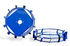 Грунтозацепы для мотоблока(железные колеса) ф 560/130