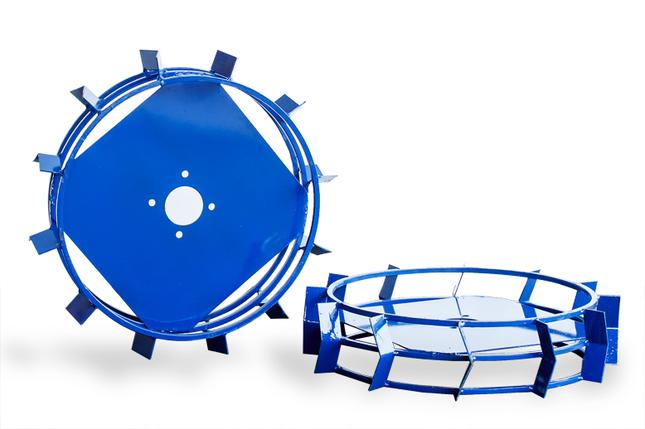Грунтозацепы для мотоблока(железные колеса) ф 560/130, фото 2