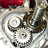 Двигатель WEIMA(Вейма) WM190FE-L(16л.с.под шпонку с редуктором), фото 5