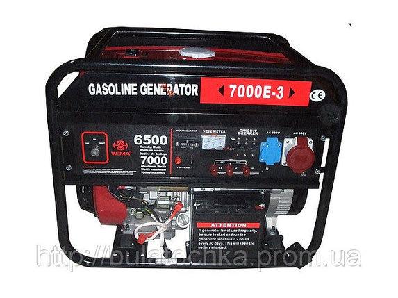 Генератор бензиновый WEIMA(Вейма) 7000E-3 (7,0кВт трехфазный), фото 2