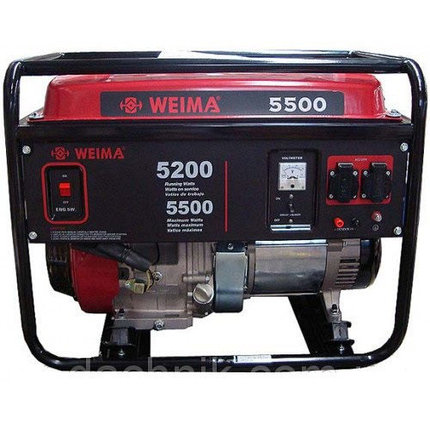 Бензиновый генератор WEIMA(Вейма) WM5500 (ATS) с автоматикой Харьков, фото 2