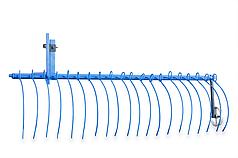 Грабли для мотоблока (2метра) грабли для сена уборка сена