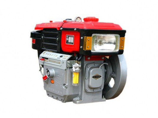 Двигатель дизельный BULAT (Булат) R180NE, дизель 8 л.с. с водяным охлаждением, Электростартер, ЗИП., фото 2