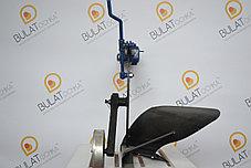 Плуг с опорным колесом для мотоблока регулируемый, фото 3