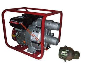 Бензиновая помпа (мотопомпа) грязевая WEIMA WMPW 80-26 (Производительность:78(м 3 / ч), фото 2